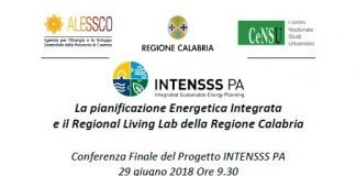 Conferenza finale INTENSSS PA